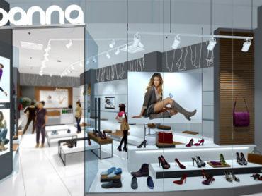 Salon Joanna - projekt